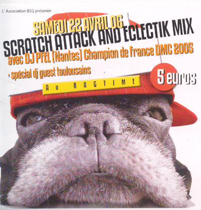 >>sCRATCh aTTACk aNd eCLECTik mIx 22.04.06>> Scratch